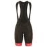 Alé Women's Graphics PRR Bermuda Bib Shorts - Black/Pink: Image 1