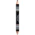 Lottie London Brow Pencil and Highlighter Duo - Dark: Image 1
