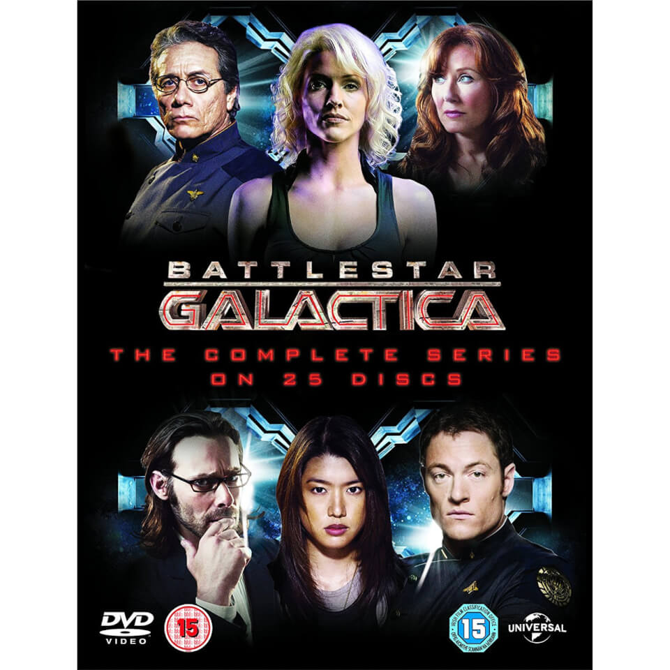 battlestar galactica the complete series dvd zavvi. Black Bedroom Furniture Sets. Home Design Ideas