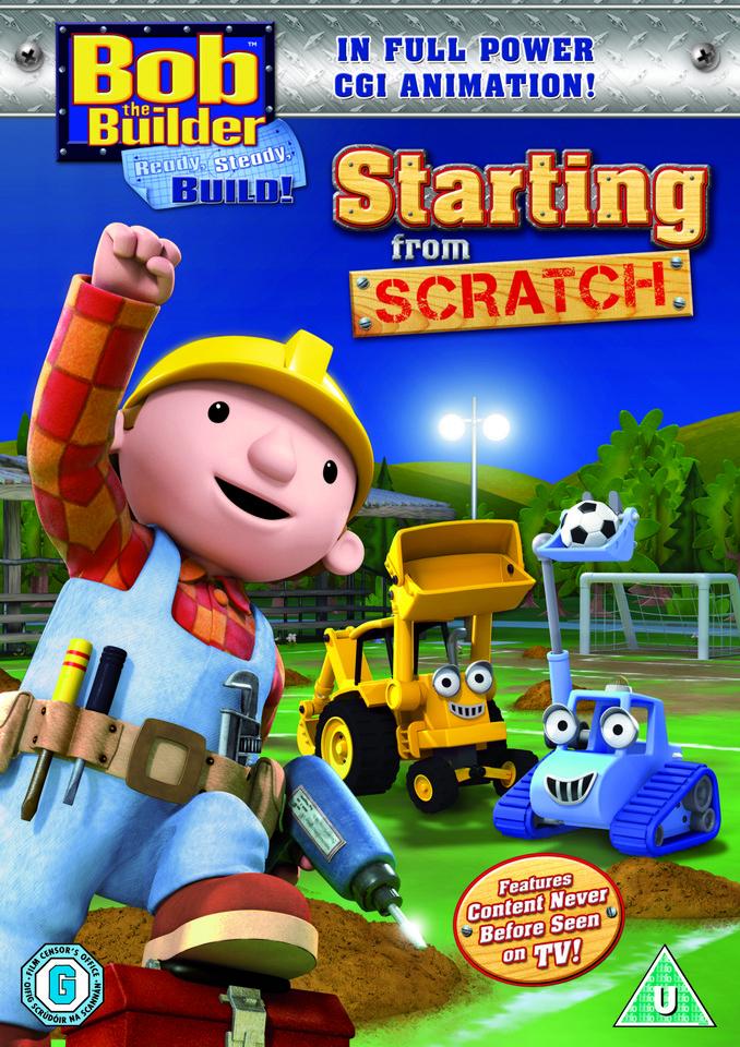 Bob The Builder Starting From Scratch Cgi Episodic Dvd