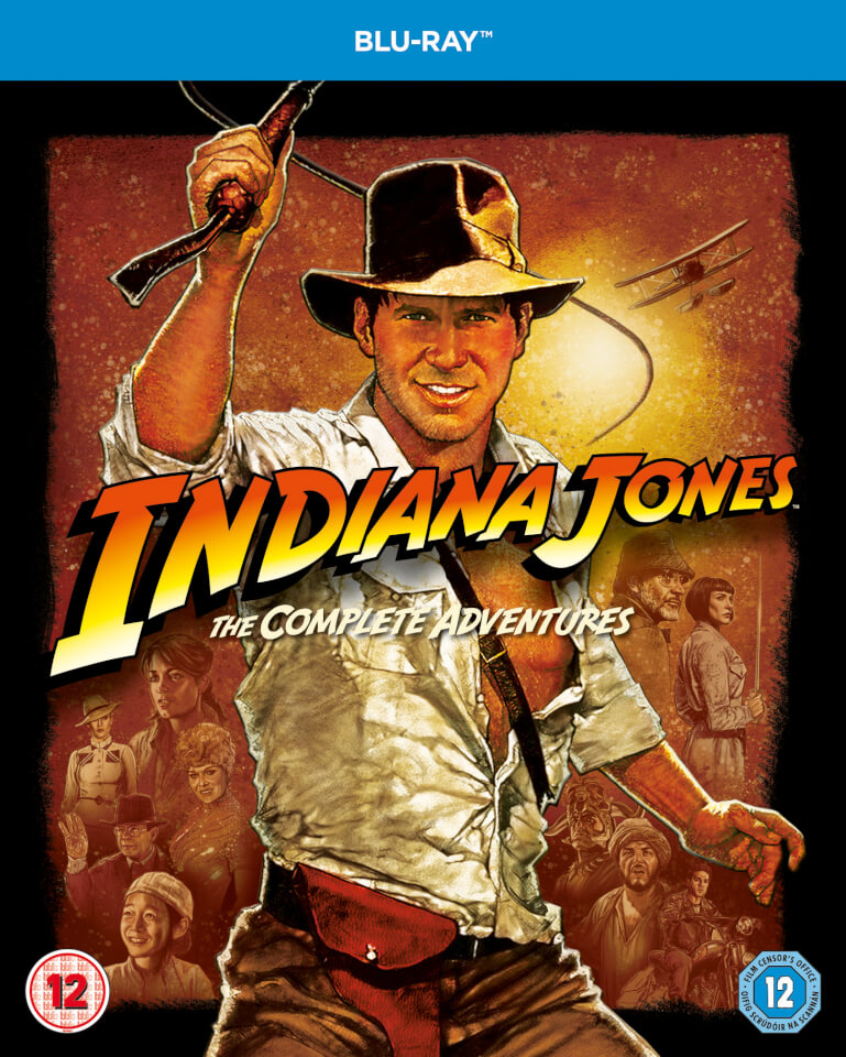 Indiana Jones The Complete Adventures Blu Ray Zavvi