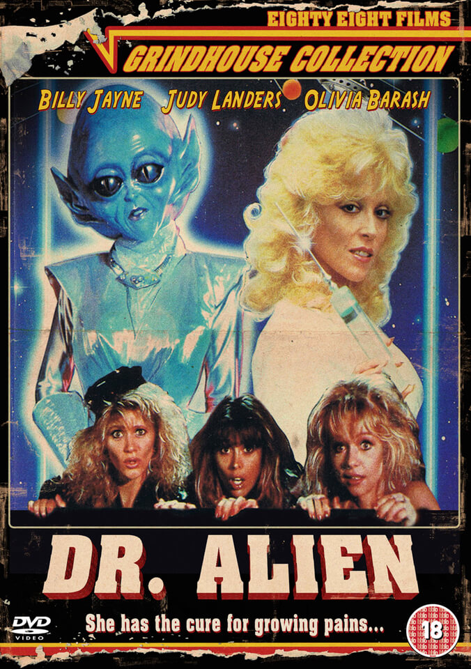 Grindhouse 5 Dr Alien Dvd Zavvi