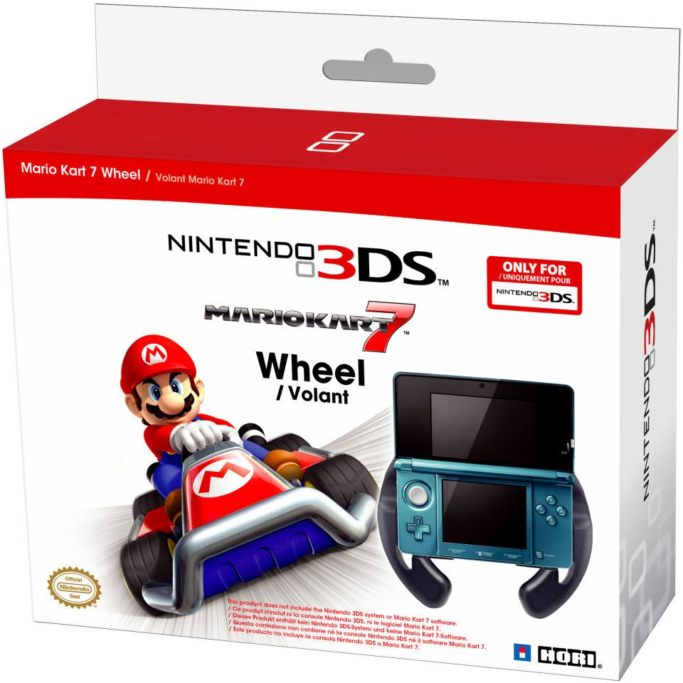 nintendo 3ds mario kart 7 wheel nintendo uk store. Black Bedroom Furniture Sets. Home Design Ideas