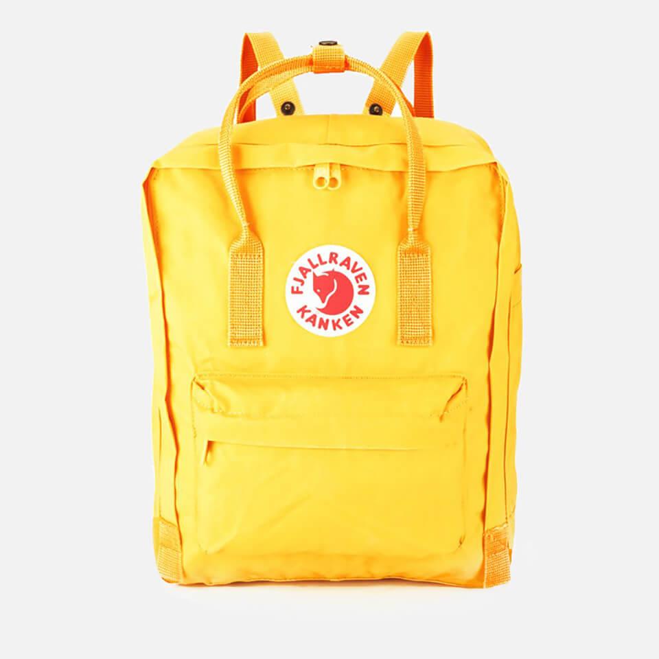 Fjallraven Women's Kanken Backpack - Warm Yellow   FREE UK