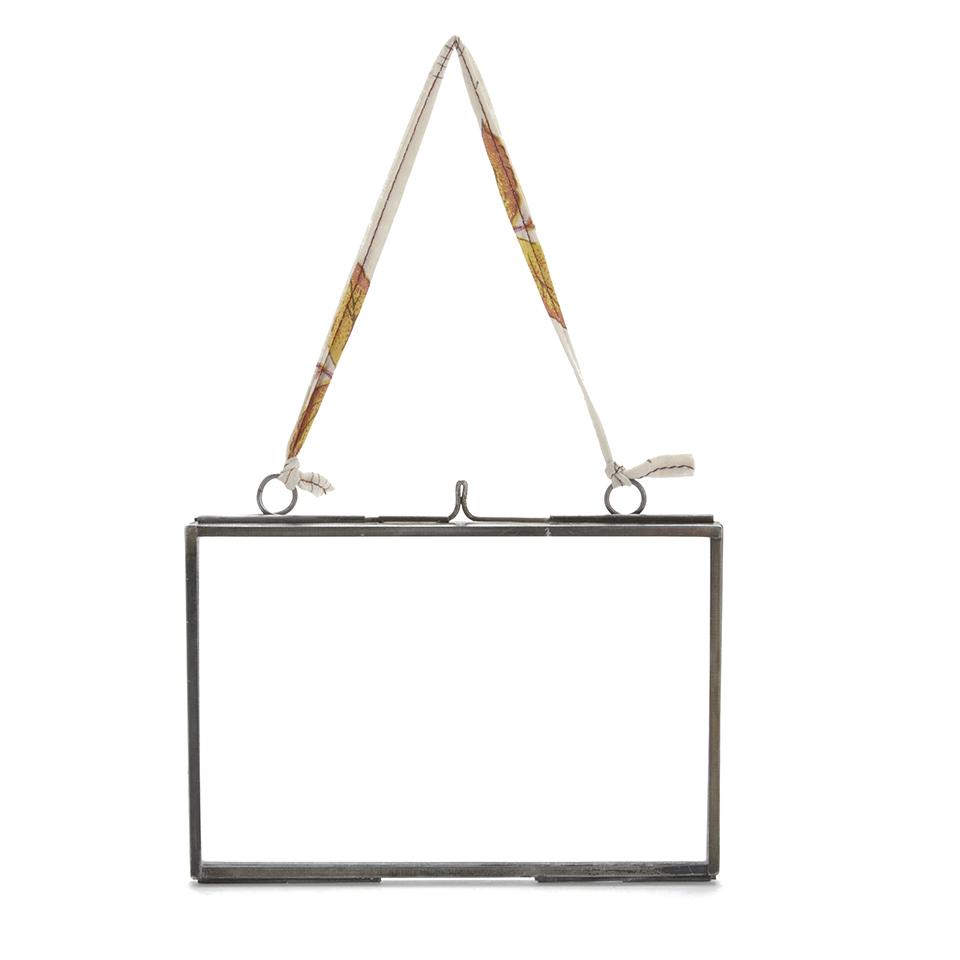Nkuku Glas Bilderrahmen - Matt Grau - 4x6 Querformat Haushaltswaren ...