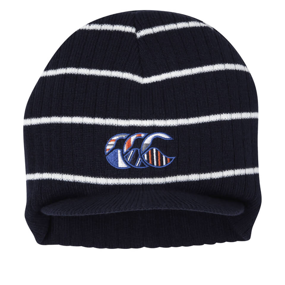 Canterbury Men's CCC Uglies Peak Beanie - Navy/White | Headwear