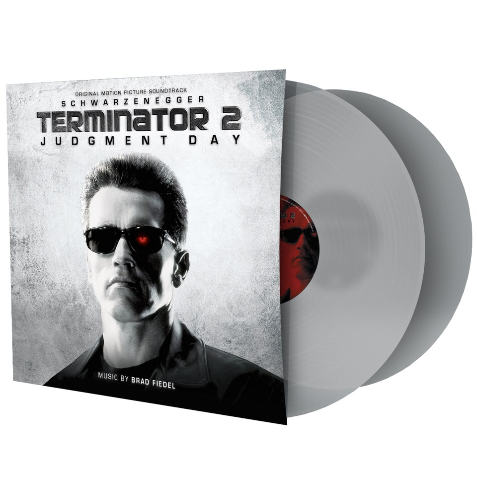 Terminator 2 Judgement Day Ost 2lp Zavvi Exclusive