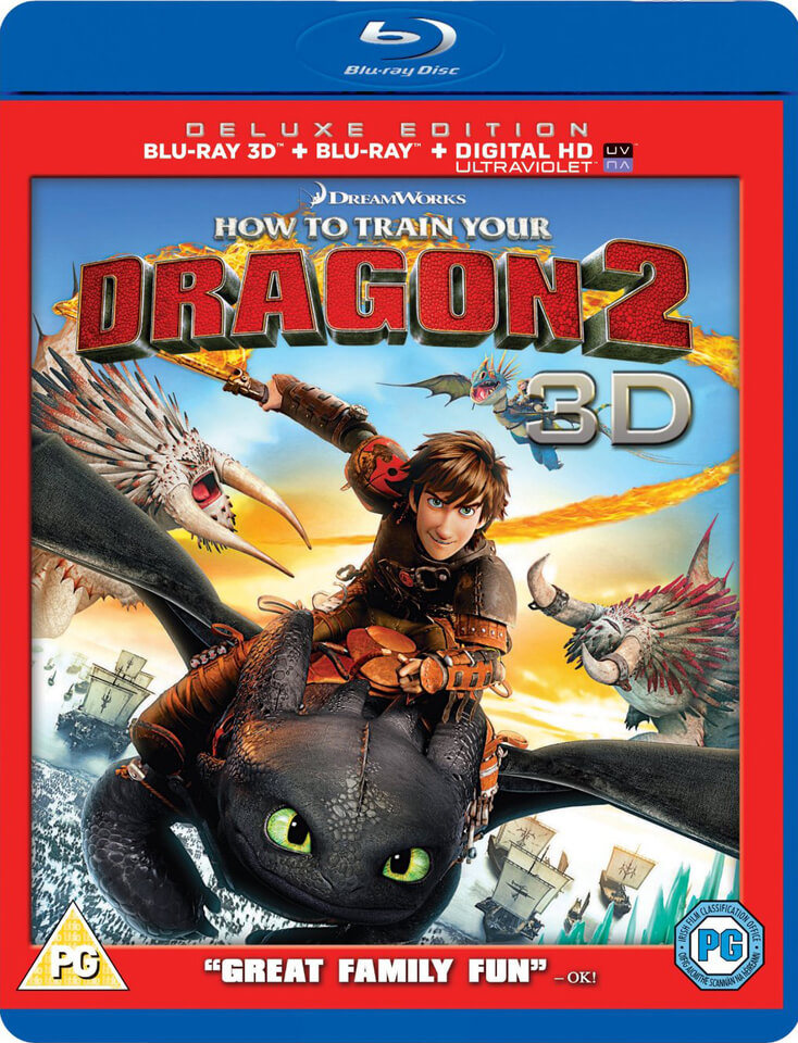 How To Train Your Dragon 2 3d Includes Ultraviolet Copy