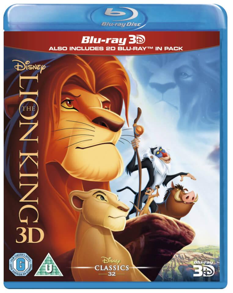 The Lion King 3d Blu Ray Zavvi Com