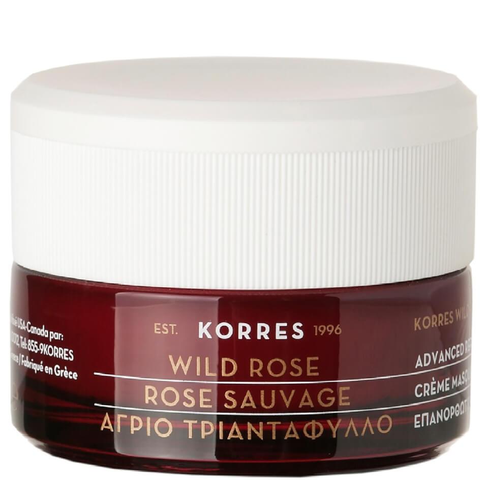 KORRES Wild Rose Sleeping Facial (40ml) | Free Shipping | Lookfantastic
