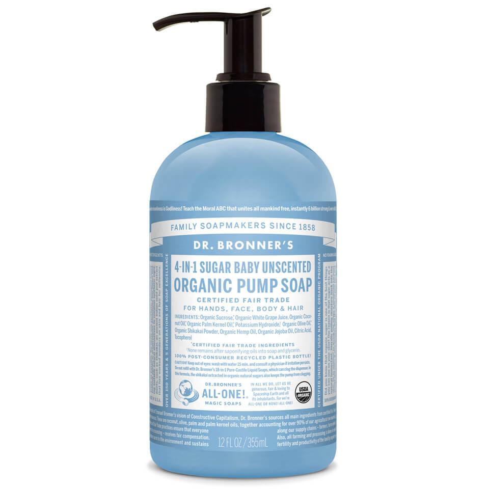 Dr Bronner Organic Shikakai Baby Mild Hand Soap 355ml