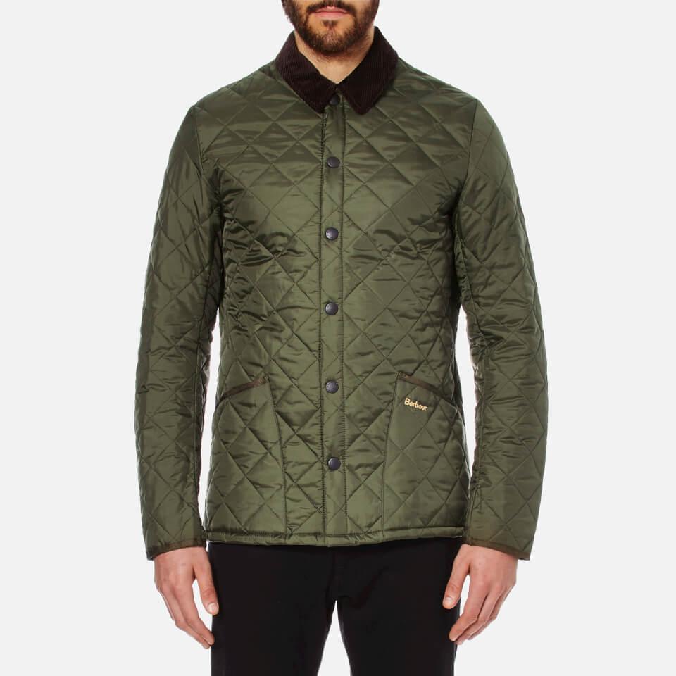 Barbour Heritage Men S Liddesdale Quilt Jacket Olive