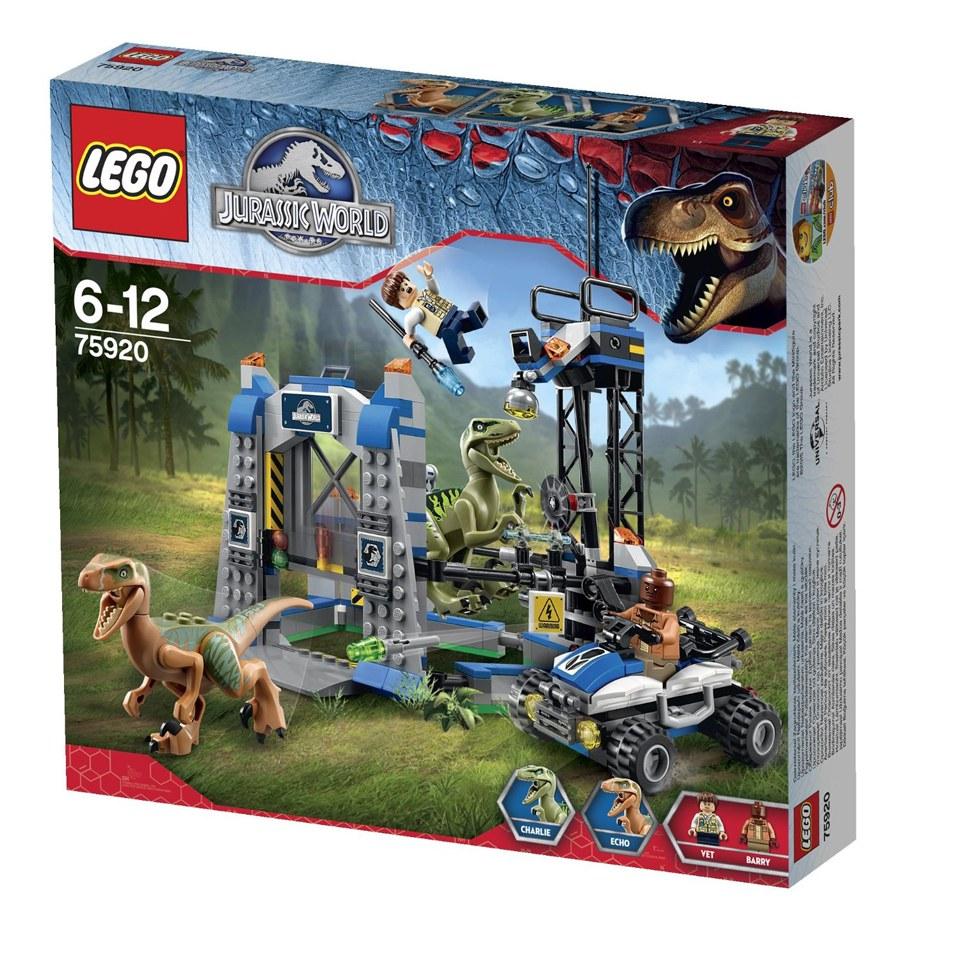 Lego Jurassic World Raptor Escape 75920 Toys Zavvi