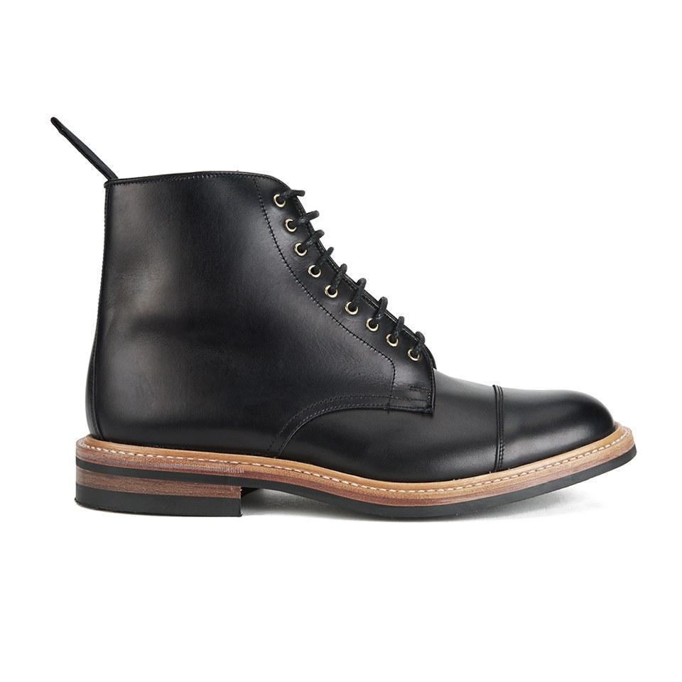 Tricker S Men S Toe Cap Dainite Leather Lace Up Boots