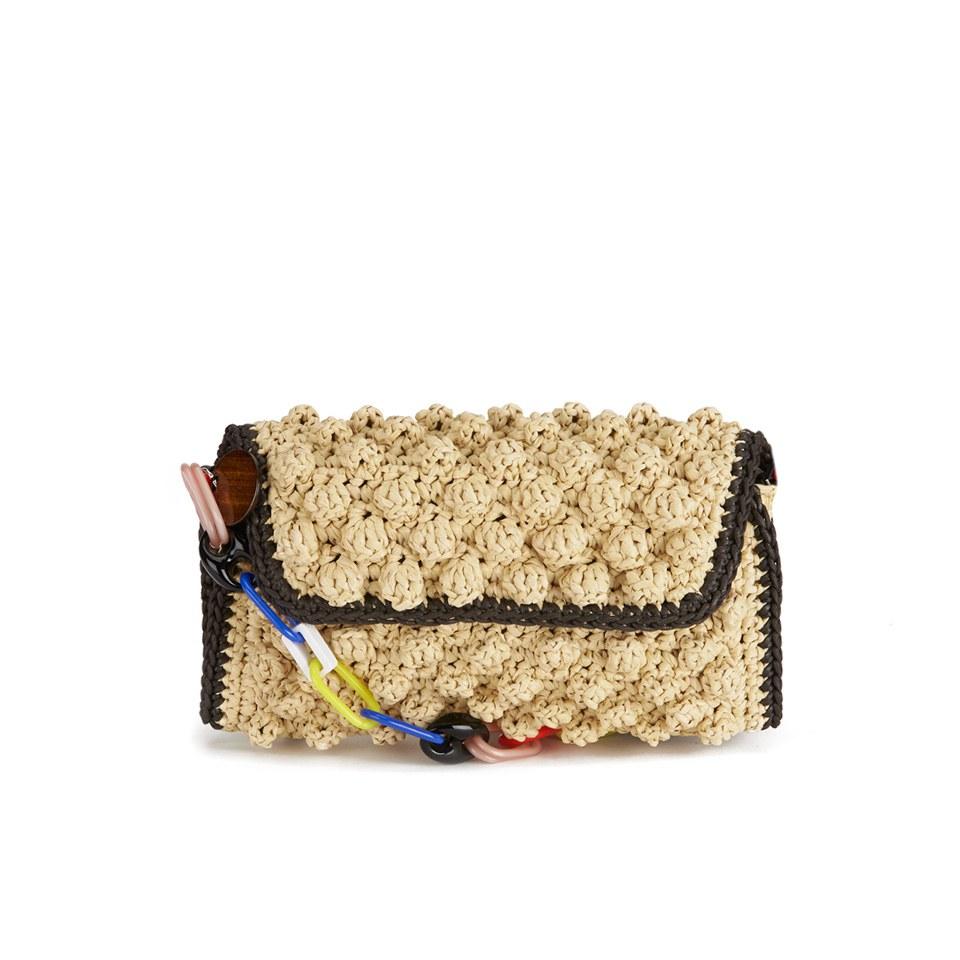 db127401423a M Missoni Women s Raffia Shoulder Bag - Beige - Free UK Delivery over £50