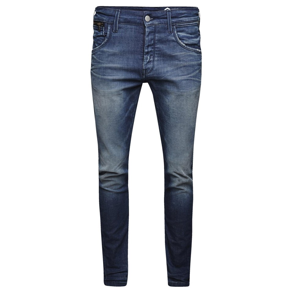 ebreo Dintorni Avvento  Jack & Jones Men's Nick Lab Regular Fit Jeans - Blue Mens Clothing - Zavvi  UK