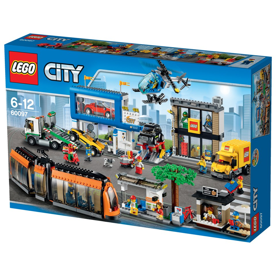 Lego city city square 60097 toys zavvi for Case lego city
