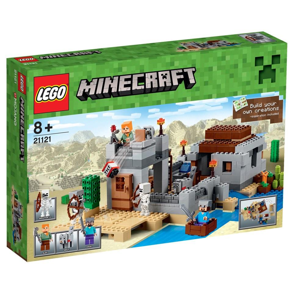 LEGO Minecraft: The Desert Outpost (21121) Toys | Zavvi