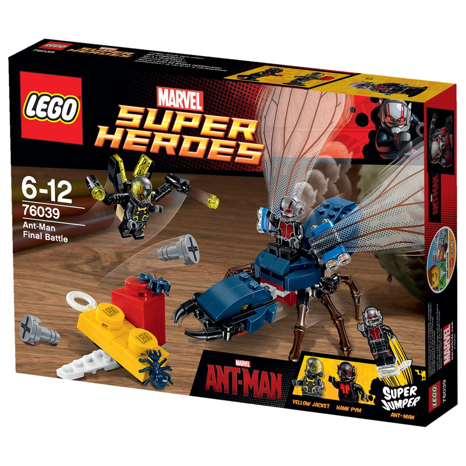 LEGO Super Heroes: Marvel's Ant-Man (76039) Toys