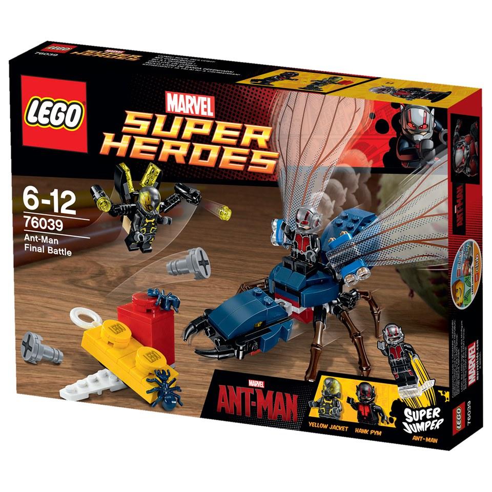 Lego Marvel Toys : Lego super heroes marvel s ant man toys thehut