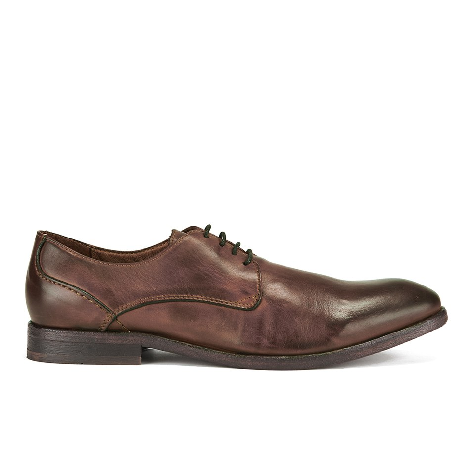 H Shoes by Hudson Men's Dylan Drum Dye Derby Shoes Tan Free UK Delivery over £50