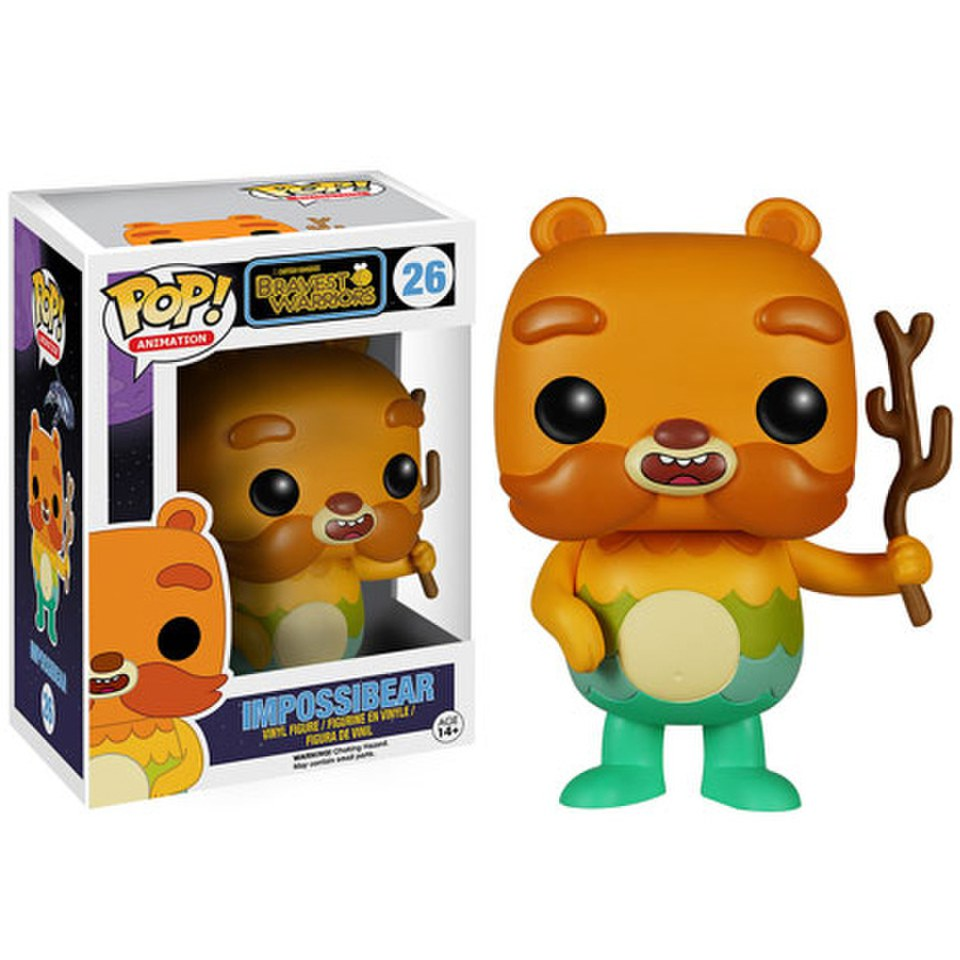 Bravest Warriors Impossibear Pop Vinyl Figure Merchandise
