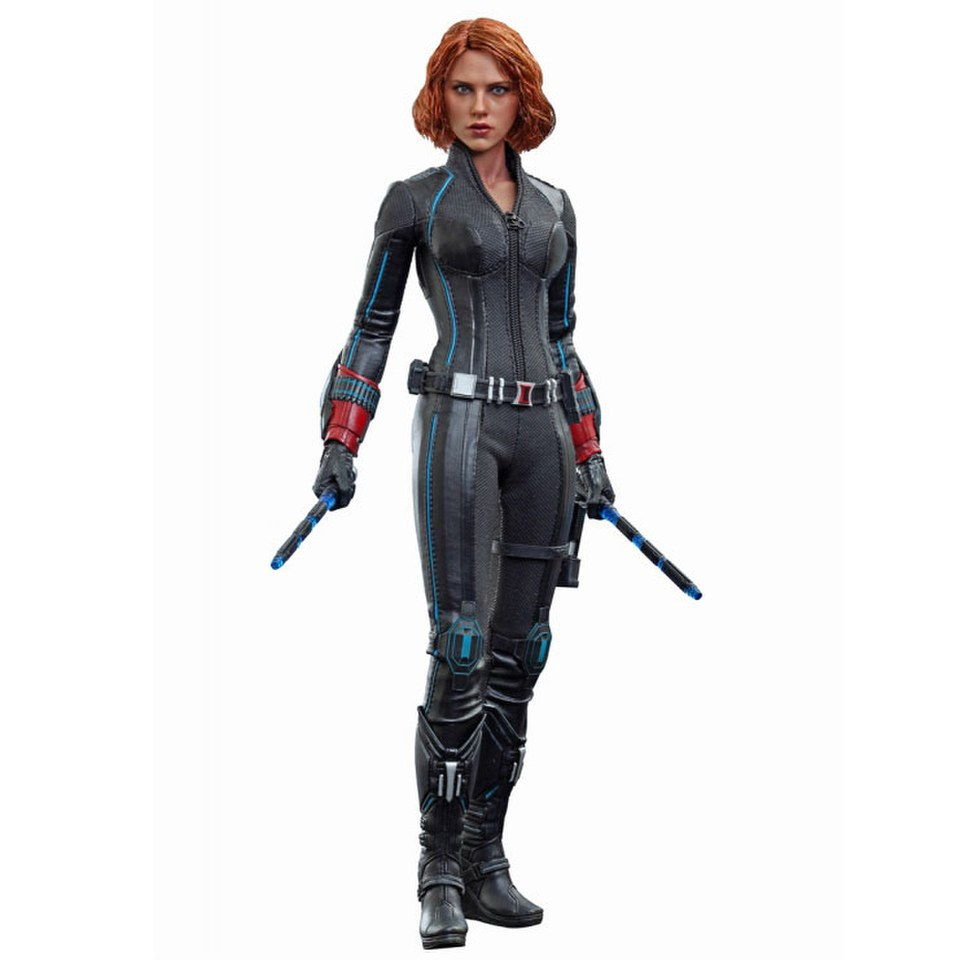 Hot Toys Marvel Avengers Age Of Ultron Black Widow 1 6