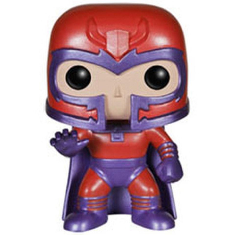 Marvel X Men Magneto Metallic Exclusive Pop Vinyl Bobble