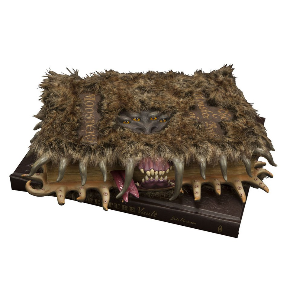 Harry Potter Book Monster ~ Harry potter monster book of monsters scale prop