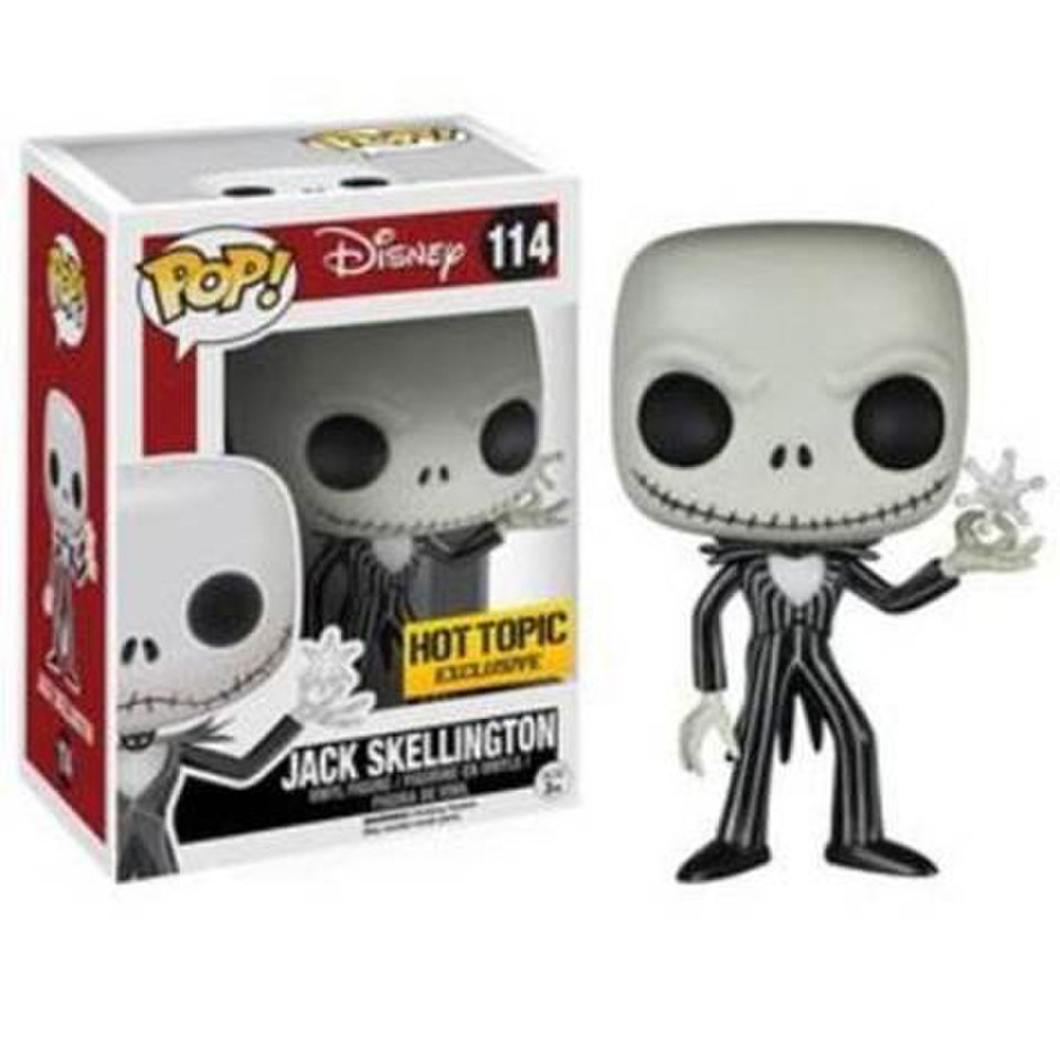 Disney Nightmare Before Christmas Snowflake Jack Skellington Pop ...
