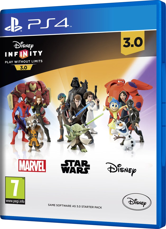 Disney Infinity 3 0 Game Only Games Accessories Zavvi