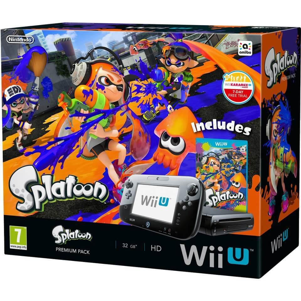 Super Smash Bros. + Splatoon Wii U Hardware Bundle Emerges ...  |Splatoon Wii
