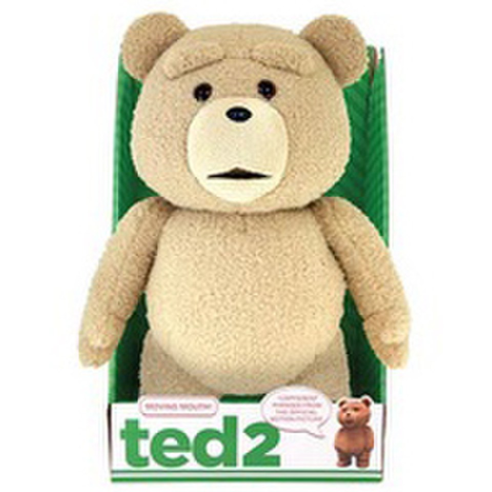 Toys For Ted : Ted animated clean sitting inch plush figure