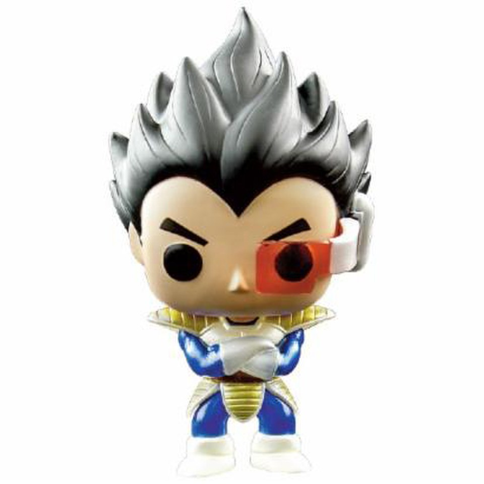 Dragonball Z Metallic Vegeta Exclusive Pop Vinyl Figure