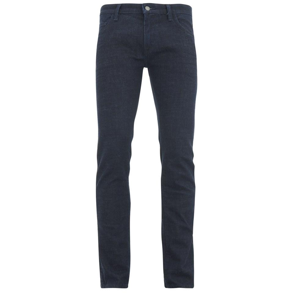 boss orange men 39 s tapered fit unwashed denim jeans 407. Black Bedroom Furniture Sets. Home Design Ideas