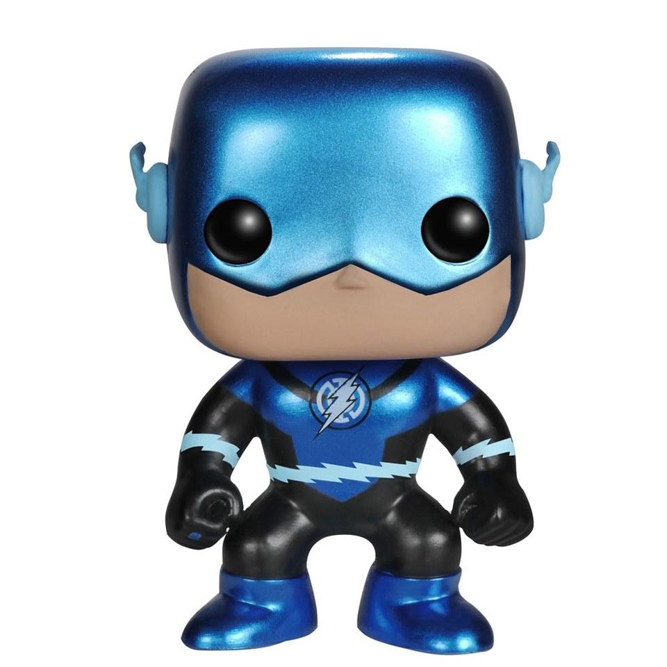 Dc Comics Blue Metallic Lantern Flash Exclusive Pop Vinyl
