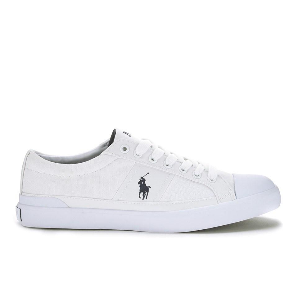 Ralph Lauren White Canvas Shoes Women