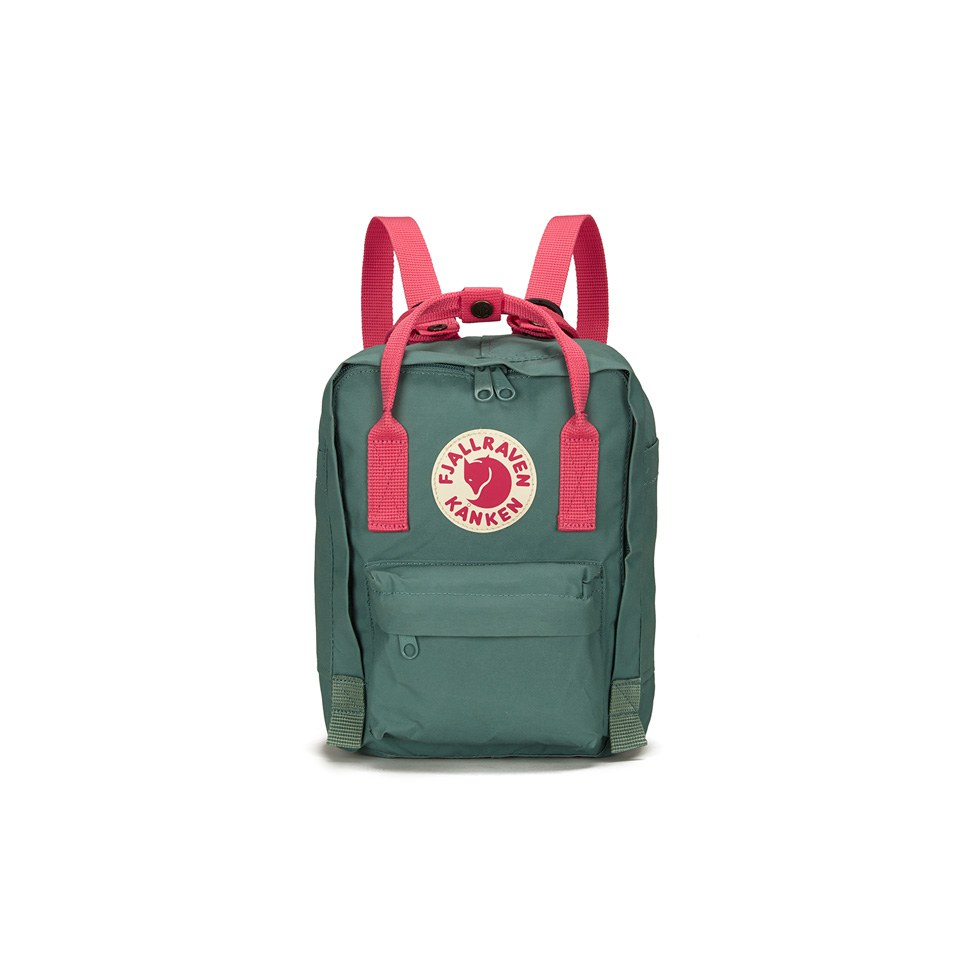 Fjallraven Men's Kanken Mini Backpack - Frost Green/Peach Pink Michael Kors Pink Crossbody Bags