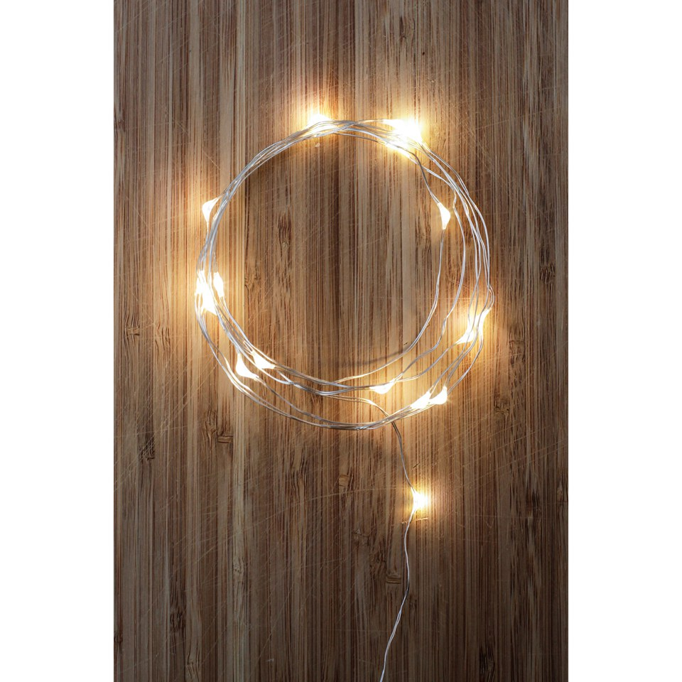 Silver String Lights IWOOT
