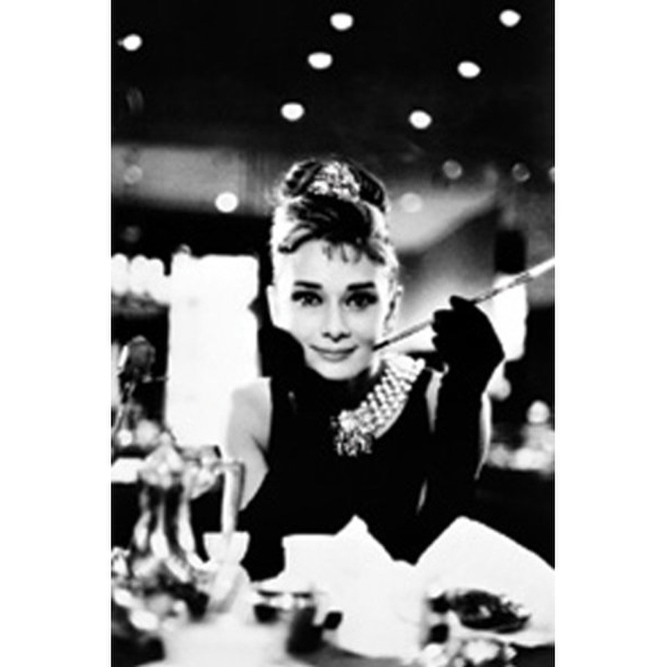 audrey hepburn 24 x 36 inches maxi poster merchandise. Black Bedroom Furniture Sets. Home Design Ideas