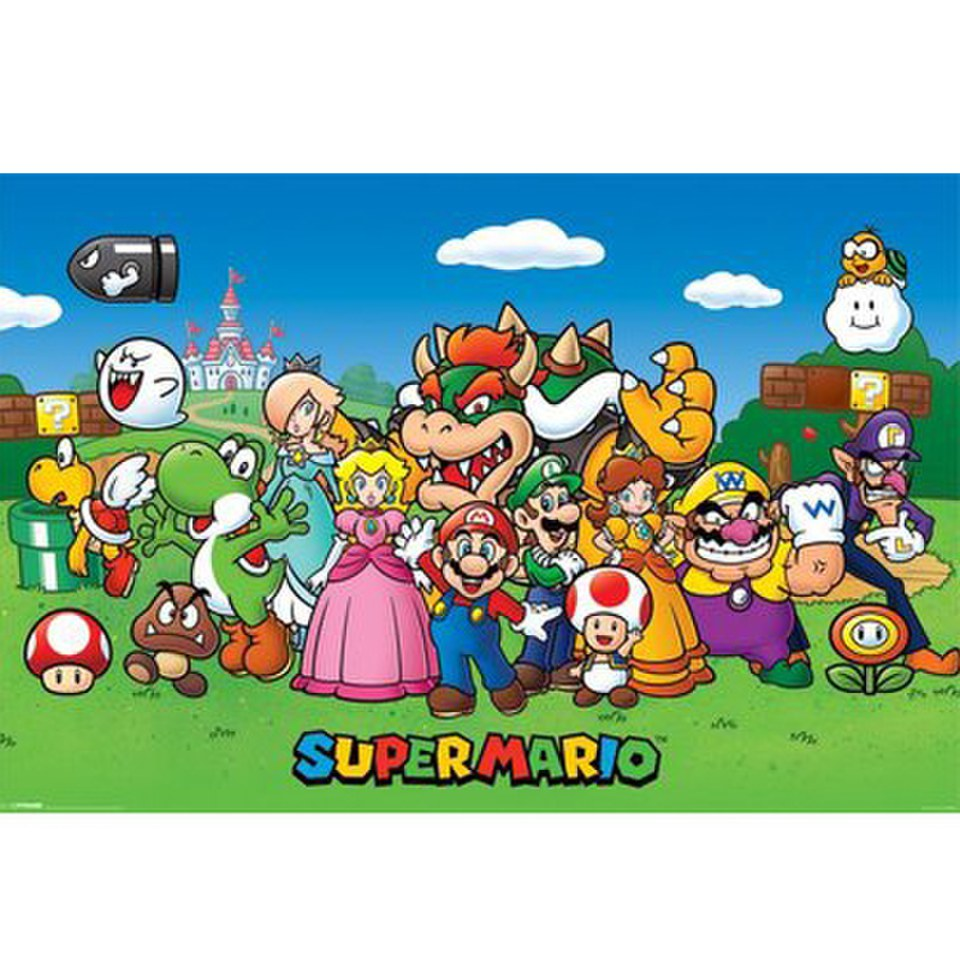 Nintendo Super Mario Characters