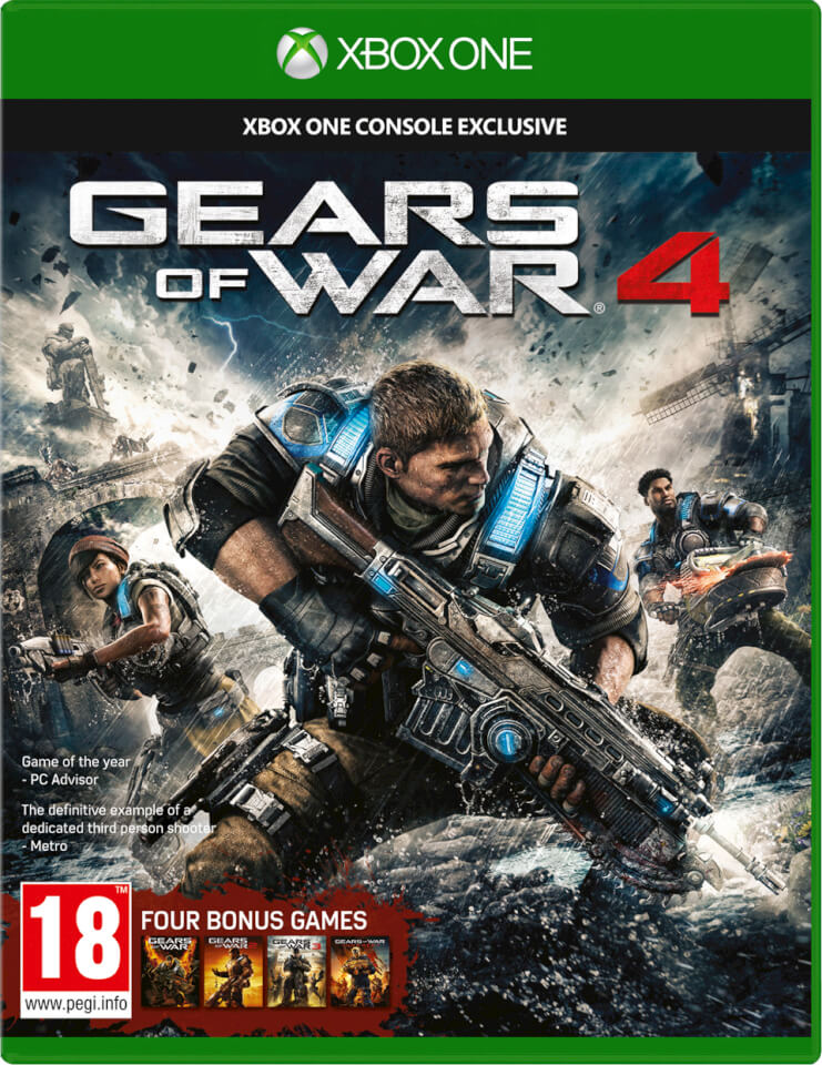 Xbox 1 Games Com : Gears of war xbox one zavvi