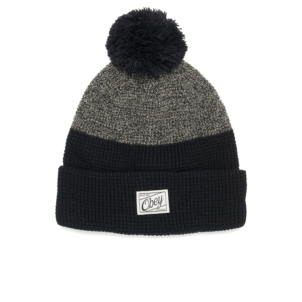 obey clothing s beanie black clothing