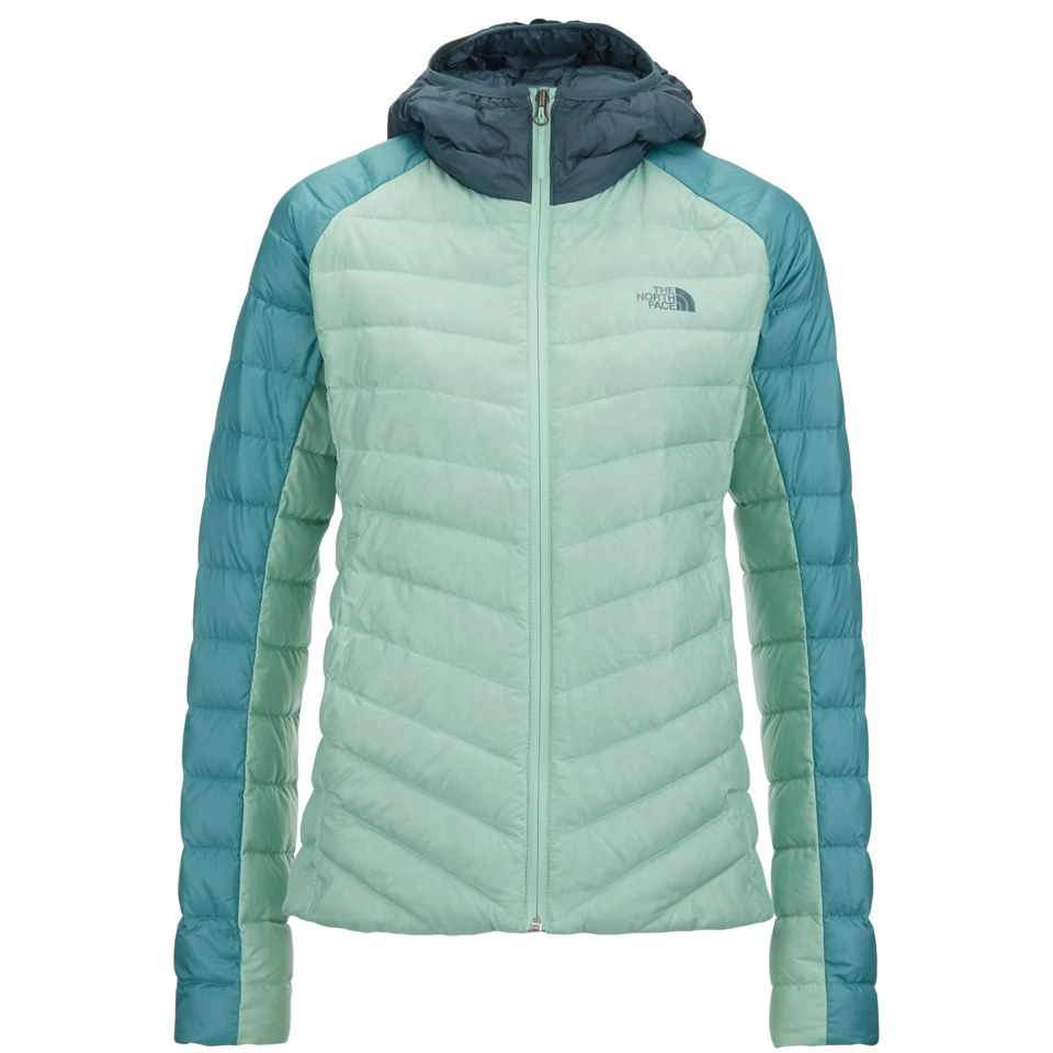 The North Face Women S Tonnero Down Filled Hoody Surf