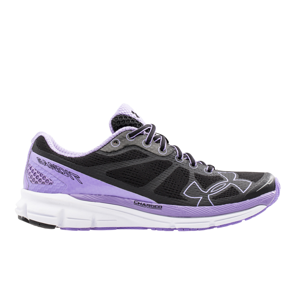 Under Armour Women's Charged Bandit Running Shoes - Black/White | Running shoes