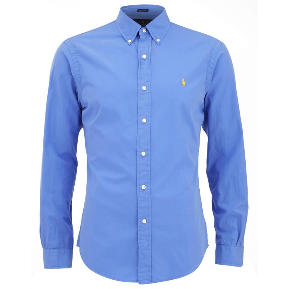 Mens Light Blue Polo Shirt
