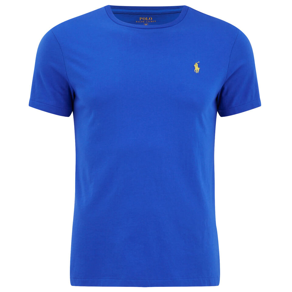 Polo ralph lauren men 39 s custom fit crew neck t shirt new for Staples custom t shirts