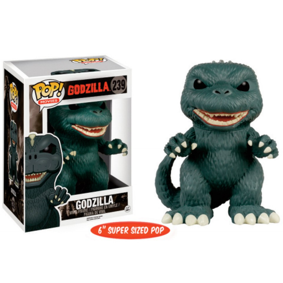 Godzilla 6 Inch Oversized Pop Vinyl Figure Merchandise