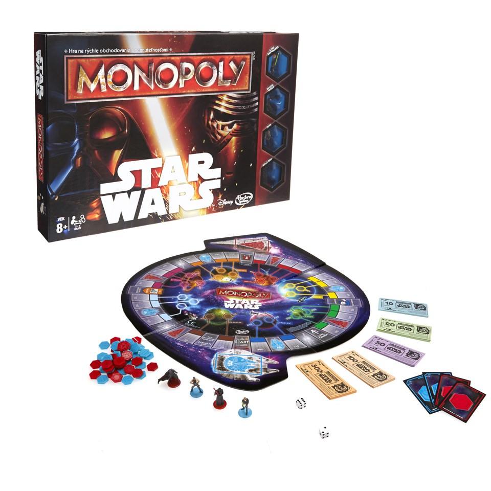Star Wars Monopoly Game Toys Zavvi
