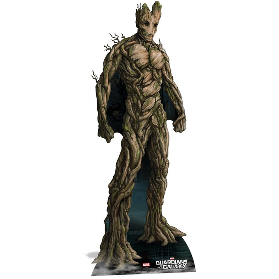 Marvel Guardians Of The Galaxy Groot Cut Out Merchandise